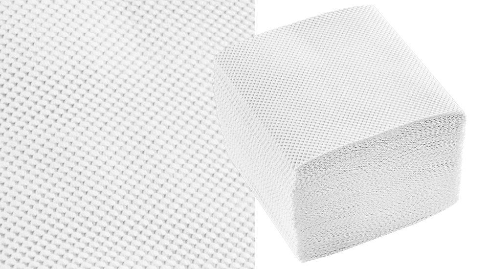 Листовая туалетная бумага Lux сплошного теснения
