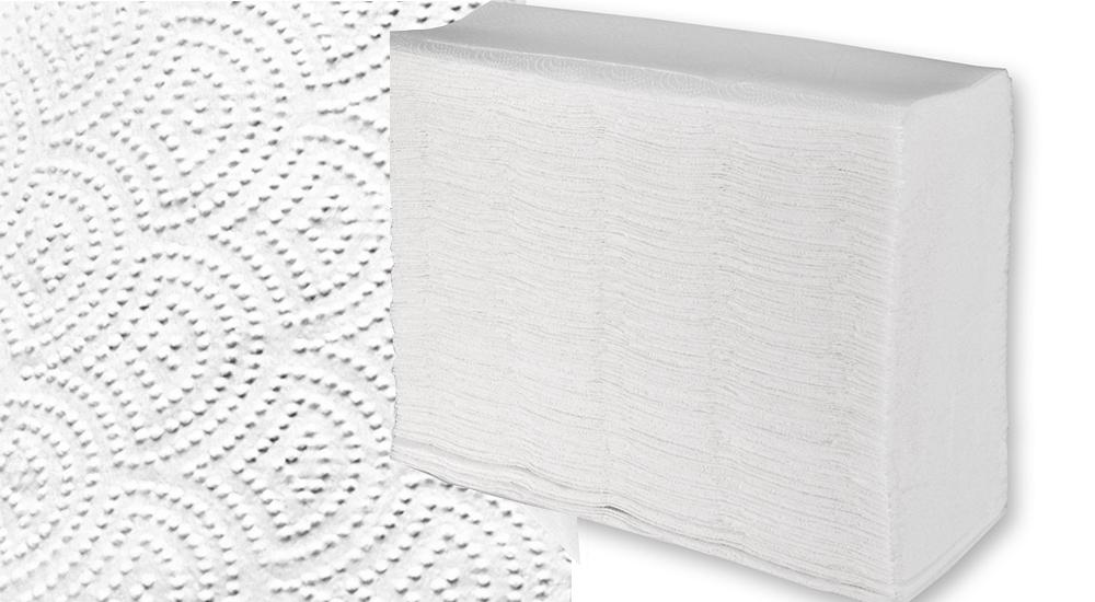 Бумажное полотенце Z/N-сложение Lux